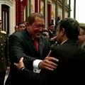 Chavez & Ahmadinejad, le vrai discours de Caracas