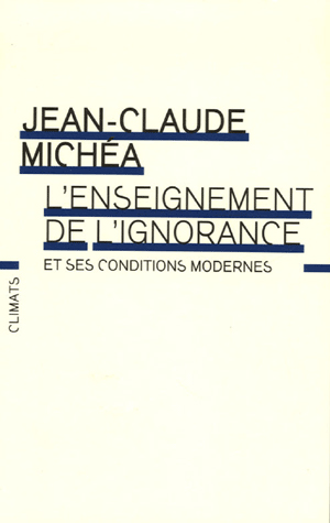 L'Enseignement de l'Ignorance
