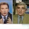 Bayrou défendant la monnaie forte et louant «l'Europe protectrice» face à J-P.Chevènement