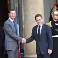 Bashar Al Assad Sarkozy 13 11 2009