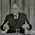 De Gaulle sur le fédérateur étranger de l'Europe