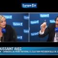 Marine Le Pen : Le Pen : «la crise est devant nous»