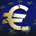 la chute de l'euro