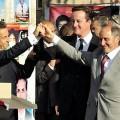 Sarkozy & Cameron en Lybie
