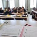 Salle de classe et élèves