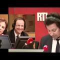 Laurent Gerra imite François Hollande… devant François Hollande !