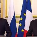 Francois Hollande & Vladimir Poutine