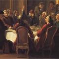 Jean Huber, Un dîner de philosophes