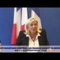 Conférence de presse de Marine Le Pen du 14 septembre 2012