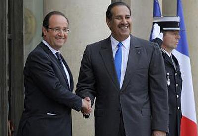 Hollande & le Qatar