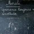 la morale laïque - Peillon