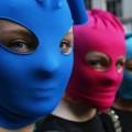 les Pussy Riot égéries culturelles de l'Occident