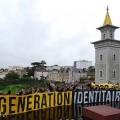 Génération Identitaire sur le chantier de la mosquée de Poitiers