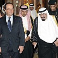 François Hollande en Arabie Saoudite