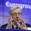 Jean-Claude Juncker, chef de l'Eurogroup