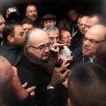 manifestation à Hellemmes contre l'arrivée de roms