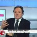 Nicolas Dupont-Aignan sur Public Sénat – 26 novembre 2012
