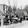 civils allemands fuyant devant la progression de l'armée rouge en 1945