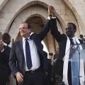 François Hollande au Mali...