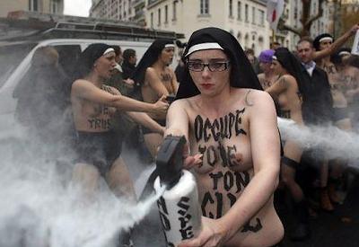 La tolérance version Femen