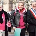 Xavier Bongibault, Frigide Barjot, et le maire du Chesnay, Philippe Brillault