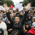 partisans du parti islamiste Ennahda au pouvoir en Tunisie