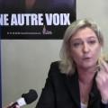 En Bretagne, Marine Le Pen dénonce le scandale des suicides dans l'agriculture (mars 2013)