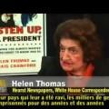 La journaliste Helen Thomas évoque la politique américaine pro-israélienne depuis la création de l'hétat hébreux (