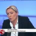 Marine Le Pen invitée de Public Sénat (05 avril 2013)