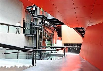 Le musée flambant neuf du FRAC de Rennes