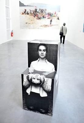 une des oeuvres du FRAC de Rennes...