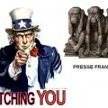 Quand les USA joue les Big Brother, la presse française regarde ailleurs