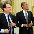 Hollande, le nouveau caniche de l'Amérique, bien-sûr au nom des grands principes...