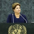 Dilma Rousseff à la tribune des Nations-Unies