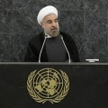 Hassan Rohani à la tribune de l'ONU