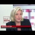 Marine Le Pen invitée des 4 Vérités sur France 2 (20 octobre 2013)