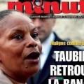 Taubira en Une de Minute, ou le deux poids deux mesure de la liberté d'espression à la française...