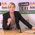 Marine Le Pen invitée du rendez-vous politique des IndésRadios-LCI-Metronews (14 novembre 2013)