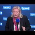 Marine Le Pen sur Europe 1 (08 décembre 2013)