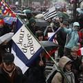 Jour de Colère le 26 janvier 2014 à Paris..