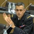 Le général Soubelet lors de son audition à l'Assemblée Nationale