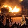 Les manifestants non violents d'Ukraine, comme disent nos médias...