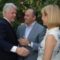Bill Clinton et ses amis oligarques milliardaires ukrainiens les Pinchuk