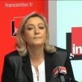 Marine Le Pen sur France Inter (30 janvier 2014)