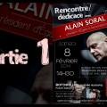 Rencontre et dédicace avec Alain Soral à Bordeaux (8 Février 2014)