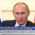 Conférence de Presse de Vladimir Poutine sur la Situation en Ukraine (04 mars 2014)