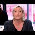 Marine Le pen commente les résultats du 1er tour des municipales sur le plateau de France 2 (23 mars 2014)