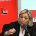 Marine Le Pen invitée de la matinale de France Inter (27 mars 2014)