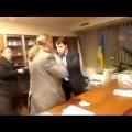 Ukraine : les démocrates qui viennent de signer un accord de partenariat avec l'UE dans leurs oeuvres (19 mars 2014)