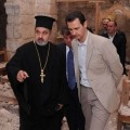 Assad  à Maaloula